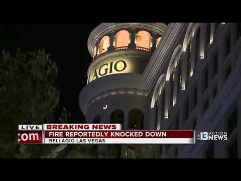Bellagio Fire Causes Traffic Backup On Las Vegas Strip