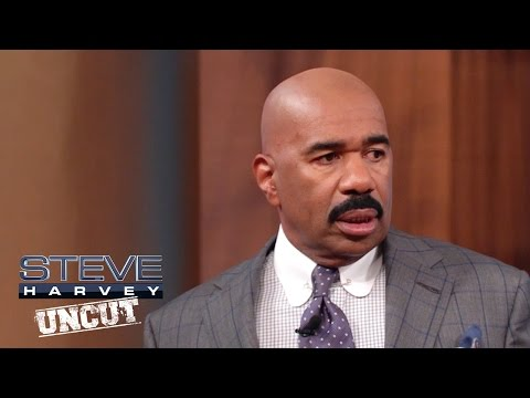 Don't need a man…I have a wife || STEVE HARVEY