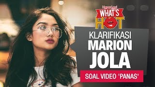 Marion Jola Akhirnya Buka Suara Soal Video Panas Mirip Dirinya