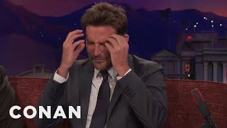 Bradley Cooper Cries A Lot On Airplanes  - CONAN on TBS