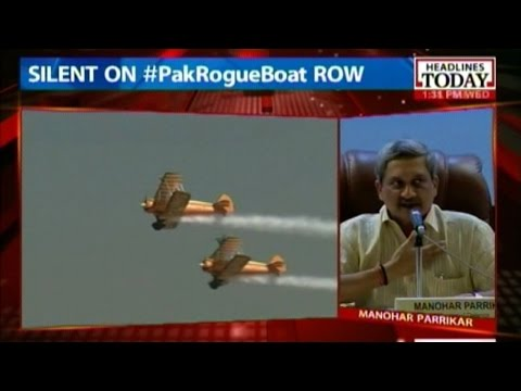Manohar Parrikar discusses Aero Show, Modi's 'Make in India' campaign
