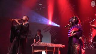 Wagakki Band / 和楽器バンド - Nijiiro Chouchou / 虹色蝶々 (Live at Japan Expo in Paris, 06.07.2014)
