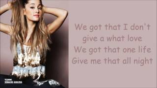 Ariana Grande  ~ Bad Decisions ~ Lyrics (+Audio)