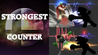 Super Smash Bros. 4 - Who has the strongest Counter?
