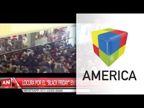 Locura y violencia en Estados Unidos por el Black Friday