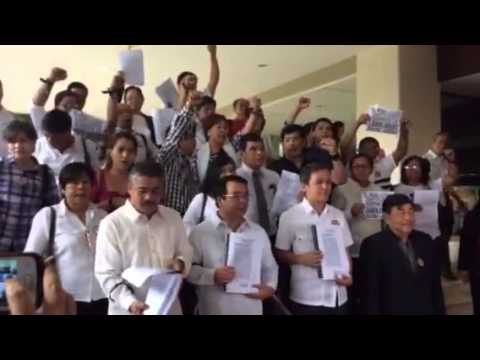 Impeachment complaint vs Aquino