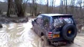 Mitsubishi Pajero - Vertical Drop - Fourmarks - Brick Kiln Farm - UK