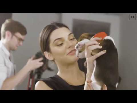 Kendall Behind The Scenes for Rock The Vote