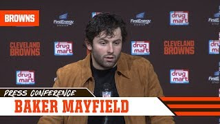 Baker Mayfield Postgame Press Conference vs. Bengals | Cleveland Browns