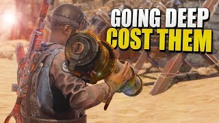 Me GOING DEEP Cost Them Their BASE LAYOUT (Rust Survival) #121