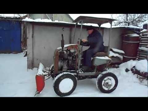 Трактора своими руками с двигателем зид