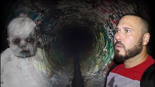 Haunted Cry Baby Tunnel (REAL CRYING)