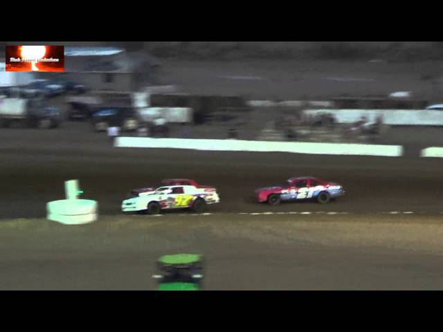 The Pure Stock Highlight Reel From Canyon Speedway Park Aug 17th 2013