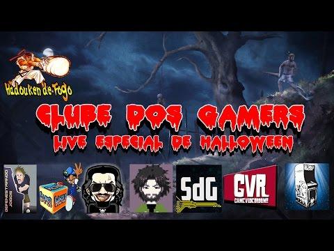 Hadouken de Fogo Clube dos Gamers Especial de Halloween