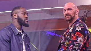 FACE TO FACE - Deontay Wilder vs. Tyson Fury II - Los Angeles Second Press Conference