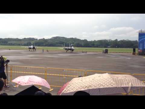 Republic of Singapore Air Force Open House 2016: F-15SG Power Down