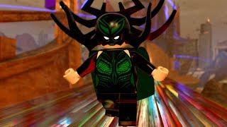 LEGO Marvel Super Heroes 2 Hela Boss Battle and Unlock Location + Free Roam Gameplay