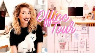 My Office Tour 2016  Zoella