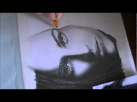 Reylia's MEGAN FOX speed drawing [Mini Drawing Series]