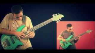 Bass Solo Cover : Aurthohin :Raater train
