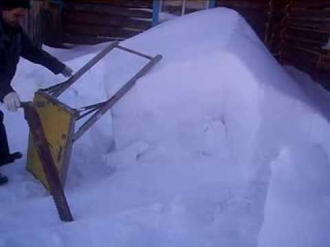 Самоделки для уборки снега видео