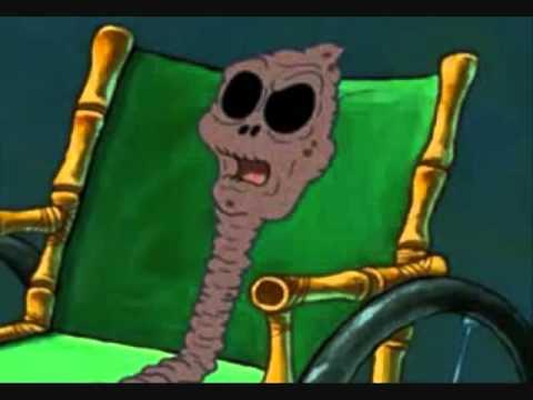 Chocolate spongebob grandma