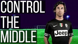 How To Control The Midfield In Soccer Like Andrea Pirlo - Thank You Il Metronomo