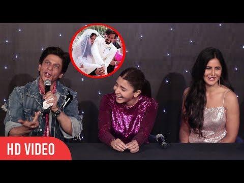 Shahrukh Khan Funniest Reaction on Ranveer Singh and Deepika Padukone Wedding thumbnail