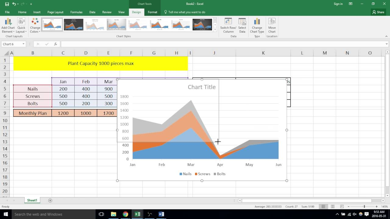 Resource amp Capacity Step Chart for Excel  Robert McQuaig Blog
