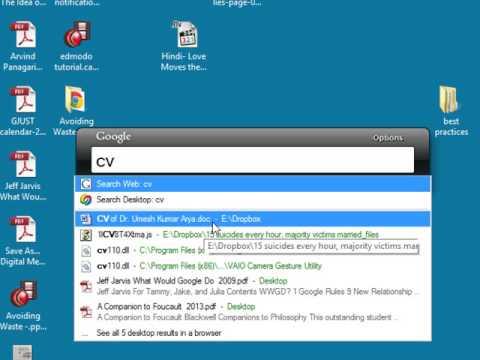 4  Google Desktop Search