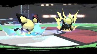 Void's Pichu vs Esam's Pikachu in Smash Bros Ultimate