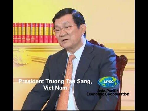 President Truong Tan Sang, Vietnam