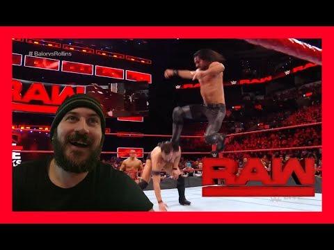 Reaction: SETH HITS A CURB STOMP!!! (WWE Raw Jan. 15, 2018) thumbnail