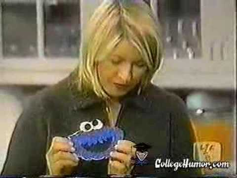 Cookie Monster vs Martha Stewart Video