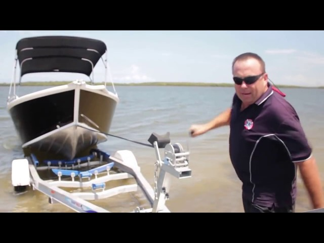 How to Launch a Boat yourself | Launch and Retrieve | Putting your boat onto a trailer | Boat Launch