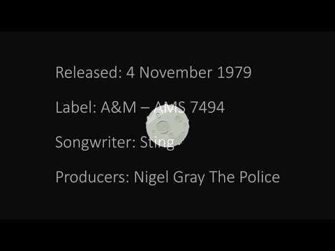 The Police   Walking on the Moon   Lyrics