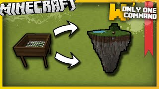 Minecraft - Ex Nihilo vanilla mod with only one command block - Sieves, silkworms & crucibles!