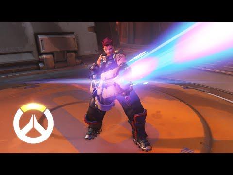 Zarya Ability Overview   Overwatch