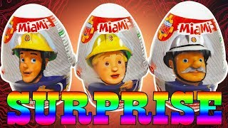 Fireman Sam Toys from Surprise Eggs | Unboxing for kids by TheSurpriseEggs
