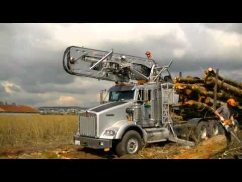 Kenworth Self Loading Logging Truck pt. 2