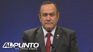 Alejandro Giammattei quiere ser presidente de Guatemala, ¿enjuiciaría a Jimmy Morales?