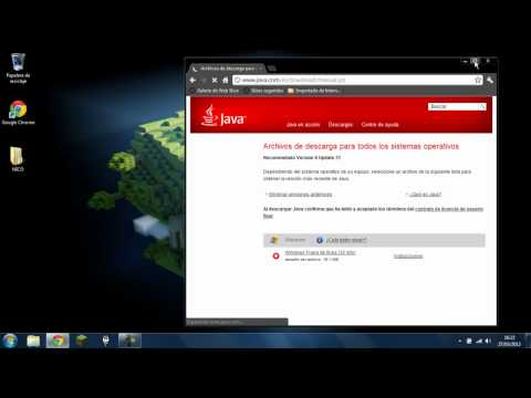 como descargar java 64 bits y acelerar minecraft (HD)