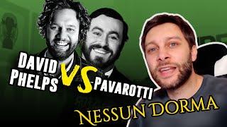 Pavarotti VS David Phelps   Nessun Dorma y la historia tras la famosa aria