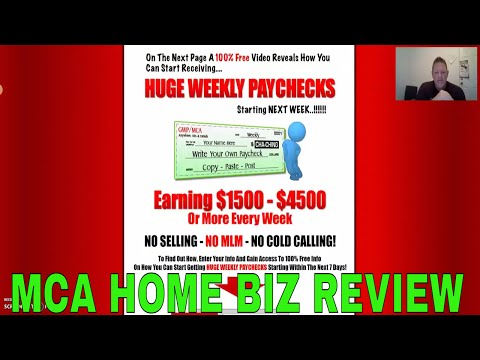 """MCA Work From Home Reviews"" - Before You Join MCA  Watch This Review!!"