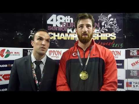 Interview to Enes Erkan. European Champion Kumite Male +84kg. 48th European Karate Championships