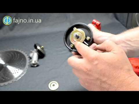 как установить шпулю на триммер