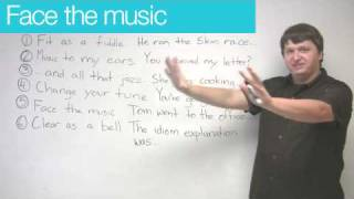 Idioms in English - Music