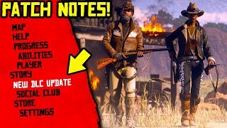 EVERYTHING that CHANGED in Red Dead! Red Dead Online 1.06 Patch Notes! Red Dead Title Update 1.06!