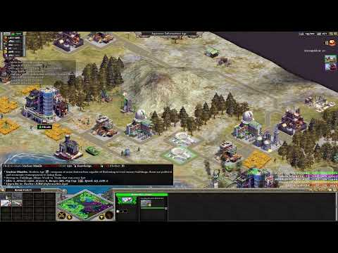 Rise Of Nations : Extended Edition Four Player Skirmish Free For All Gameplay (Japanese)