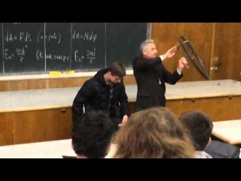 Обычный урок физики ;D